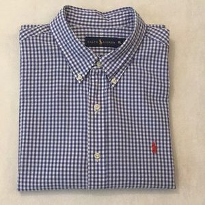 EUC Men's Ralph Lauren Gingham Shirt